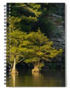 Scenic Beavers Bend Spiral Notebook