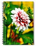 Scenic Bouquet Spiral Notebook