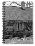 Scenic Cabin Spiral Notebook