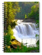 Scenic Falls Spiral Notebook