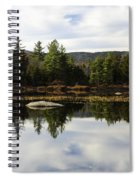 Scenic Lily Pond Spiral Notebook