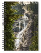 Scenic Of Shannon Fallsbritish Columbia Spiral Notebook