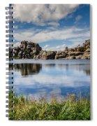 Scenic Sylvan Lake At Custer State Park Spiral Notebook