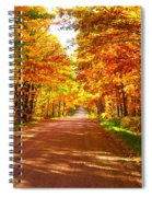Scenic Tour Spiral Notebook