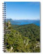 Scenic Urewera Np With Lake Waikaremoana In Nz Spiral Notebook