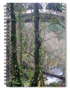 Scenic View Arch Bridge Spiral Notebook