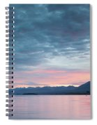 Scenic View Of Lake At Dusk, Lake Spiral Notebook
