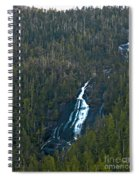 Scenic Waterfall Spiral Notebook