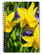 Scent Harmony Spiral Notebook