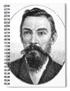 Schalk Willem Burger (1852-1918) Spiral Notebook