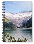 Schlegeis Dam And Reservoir  Spiral Notebook