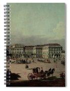 Schloss Schonbrunn, 1759-60 Oil On Canvas Spiral Notebook