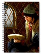 Scholar By Moonlight Spiral Notebook