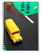 School Bus School Spiral Notebook