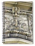 School Crest Spiral Notebook
