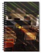 School - Old School Charm  Spiral Notebook