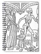 Schoolmaster And Soldier Spiral Notebook