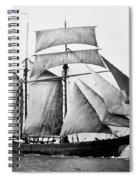 Schooner, 1888 Spiral Notebook
