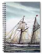 Schooner Light Spiral Notebook