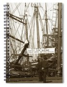 Schooner Luisa D Sails For Nome Alaska  About April 18 1902 Spiral Notebook