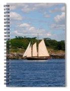 Schooner Spiral Notebook