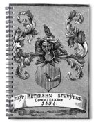 Schuyler Family Arms Spiral Notebook