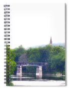 Schuylkill River At Manayunk Philadelphia Spiral Notebook