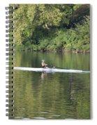 Schuylkill Rower Spiral Notebook