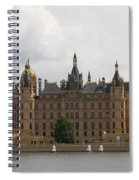 Schwerin Castle Front Aspect Spiral Notebook