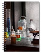 Science - Chemist - Chemistry Equipment  Spiral Notebook