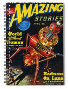 Science Fiction Cover, 1939 Spiral Notebook