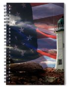 Scituate Strong Protecting American Shoreline Spiral Notebook