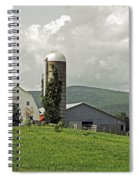 Scoharie New York Farm Spiral Notebook
