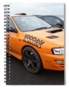 Scooby Subaru Spiral Notebook