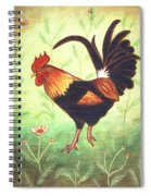 Scooter The Rooster Spiral Notebook