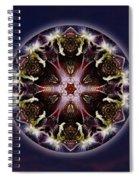 Scorpio Moon Warrior Spiral Notebook