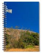 Scorpion Windmill Spiral Notebook