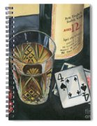 Scotch And Cigars 2 Spiral Notebook