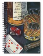 Scotch And Cigars 4 Spiral Notebook