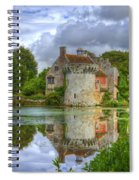 Scotney Castle Reflections Spiral Notebook