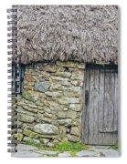 Scottish Farmhouse Spiral Notebook