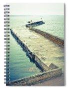 Scottish Harbour Spiral Notebook