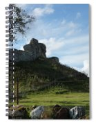 Scottish Castle Ruins Spiral Notebook