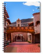 Scotty's Castle Courtyard Spiral Notebook