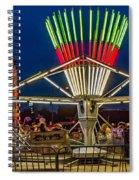 Scrambling The Night Away Spiral Notebook