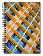 Scratchy Hotel Facade Spiral Notebook