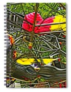 Scream If You Want To Go Faster Spiral Notebook