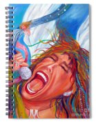 Screamin Angel Spiral Notebook