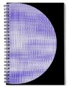 Screen Orb-08 Spiral Notebook