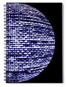Screen Orb-11 Spiral Notebook